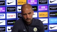 Manchester City's manager Pep Guardiola speaks ahead of the team's upcoming match against Bournemouth He gives his thoughts on the Champions League...