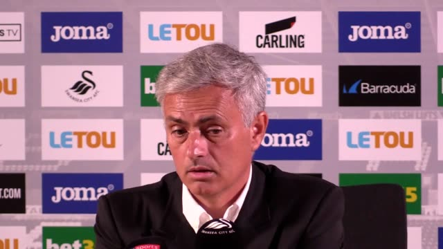 Manchester United are confident after a 40 victory against Swansea says manager Jose Mourinho at a press conference He batted away claims that Paul...