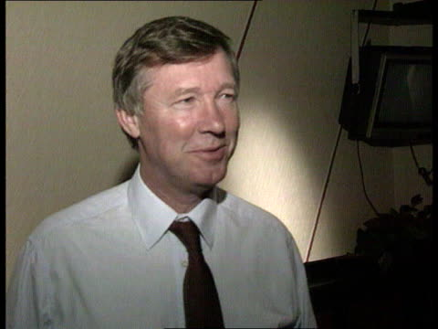 Manchester United win Premier League INT CMS Alex Ferguson intvw SOF We have had a very good season and another win would round it off nicely...