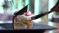 mango and passion fruit mousse cake