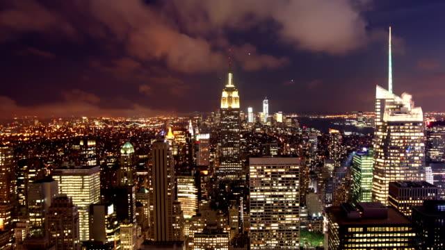 Manhattan in der Nacht, New York City