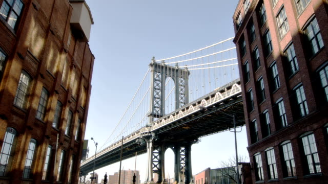 Manhattan bridge taken from Brooklyn