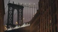 Manhattan Bridge/DUMBO - Establishing Shot