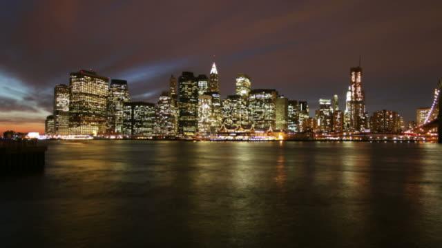 Manhattan dawn time lapse