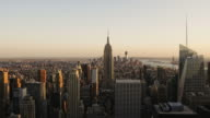 Manhattan day to night HD timelapse. New York