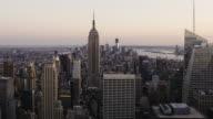 Manhattan Tag zur Nacht, HD-Zeitraffer. New York