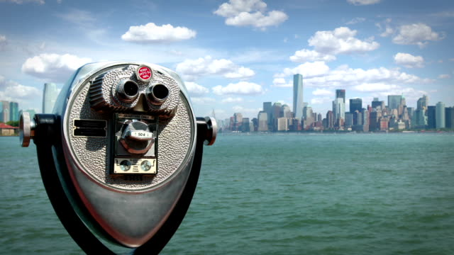 Manhattan from Liberty Island, New York