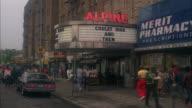 WS Manhattan movie theater named 'Alpine' / New York City, New York, USA