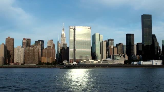 Manhattan Skyline across East River