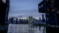 Manhattan skyline at Twilight