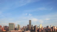 Manhattan Skyline Morning Time Lapse