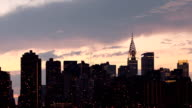 Manhattan Skyline Time Lapse
