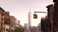 Manhattan Stoplight in the West Village New York City