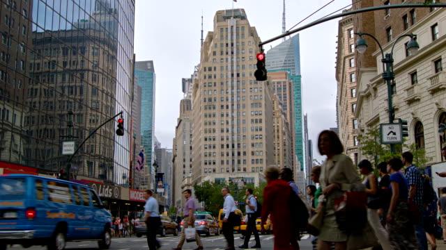 Strada di Manhattan