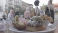 NEW YORK, Manhatten, Hamburger, steet, 3