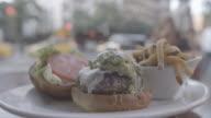 NEW YORK, Manhatten,  Hamburger, steet, 4