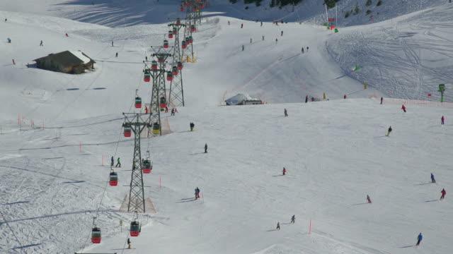 Mannlichen Cable Car, Mannlichen, Grindelwald, Bernese Alps, Switzerland, Europe