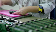 Manual assembly of electronic circuit board