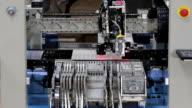 LED manufacturing machine in progress