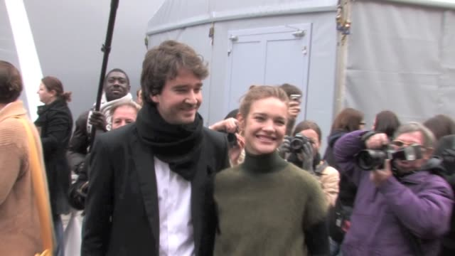 Many Celebrities attend the Louis Vuitton 2012 AW Fashion Show during the Fashion Week in Paris Celebrites at Louis Vuitton A/W 2012 on March 07 2012...