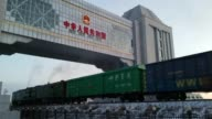 Manzhouli city is the largest border port between China and Russia which located at Neimenggu Province