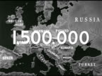 MAP Map of Europe w/ '100' superimposed over map