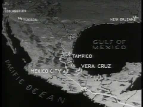 MAP Map of Mexico