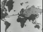 USSR map showing distance from Moscow to New York comparing distance across Russia