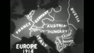 Map with animation shows the boundaries of European nations in 1914 and 'today' / Note exact month/day not known documentation incomplete