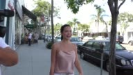 INTERVIEW Mara Teigen talks about Amber Rose getting breast reduction while shopping in Beverly Hills in Celebrity Sightings in Los Angeles
