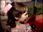 Mara Wilson at the 1995 Golden Globe Awards at the Beverly Hilton in Beverly Hills California on January 21 1995
