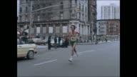 Marathon Archive Footage Alberto Salazar wins in his first marathon