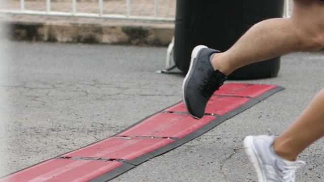 Marathon, finish line