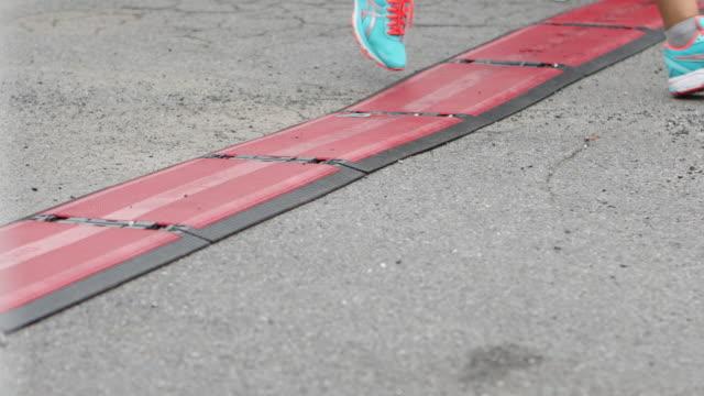 Marathon-Ziellinie