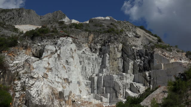 marble quarries of Fantiscritti near Colonnata, Carrara, Apuan Alps, Tuscany, Italy