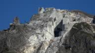marble quarry near Levigliani, Apuan Alps, Tuscany, Italy