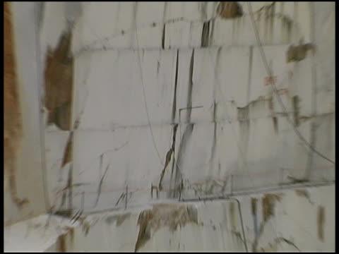 Quarry Carrara-Marmor Wand (Italien