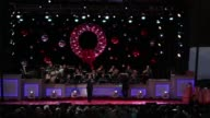 Marc Anthony accompanied by The Airmen of Note performs at the 94th Annual National Christmas Tree lighting ceremony at the Ellipse near the White...