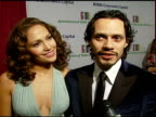 Marc Anthony and Jennifer Lopez on being honored to be attending on being a big fan of Tony Bennett and on performing at the event on wishing Tony...