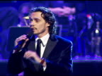 Marc Anthony performing at the Singers and Songs Celebration of Tony Bennetts 80th Birthday By Raising Funds for Newman�s Hole in the Wall Camps at...