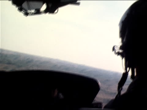 March 13 1971 CU pilot flying a gunship at Tan Son Nhut Air Base during the Vietnam War / Saigon Vietnam