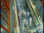 March 2007 WS TU UN inspectors visiting Iranian nuclear fuel facility to carry out inspection/ Isfahan Iran/ AUDIO