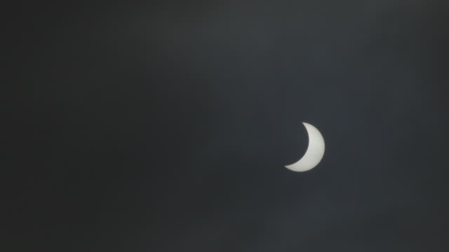March 2015 Long Lens shot of Solar Eclipse