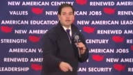 Marco Rubio the young Republican senator fast building momentum in the race for the White House came back swinging Sunday after a mauling in the...