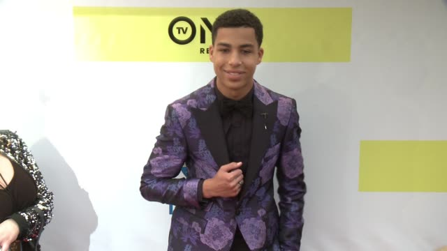 Marcus Scribner at 48th NAACP Image Awards at Pasadena Civic Auditorium on February 11 2017 in Pasadena California