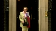 Margaret Beckett tricked by impressionist phone call FILE / Date Unknown London Downing Street EXT Margaret Beckett MP out of No10 TO