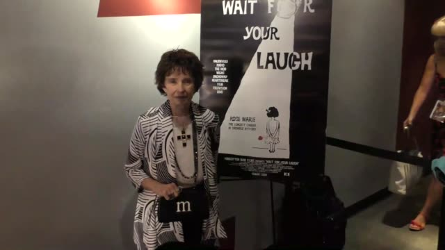Margaret O'Brien at the Viewing QA of Rose Marie Wait For Your Laugh at Aero Theatre in Santa Monica Celebrity Sightings on August 3 2017 in Los...