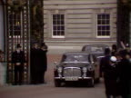 Margaret Thatcher leaves Buckingham Palace after winning the 1979 General Election