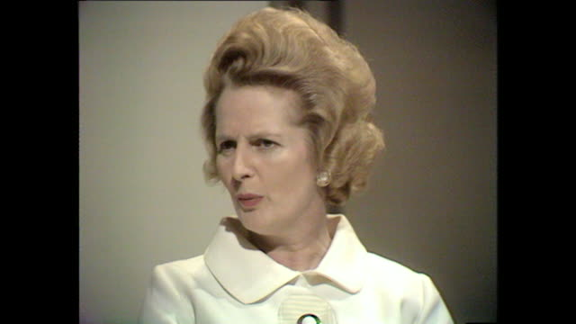 Margaret Thatcher talks about her time as a student at Christ Church College Oxford