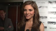 Maria Menounos about hosting tonight what qualities the males have to have besides being just fun and fearless what she learned from Cosmo and why...